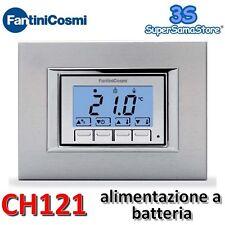 3S TERMOSTATO AMBIENTE DA INCASSO CH121 FANTINI COSMI COVER INTERCAMBIABILI New