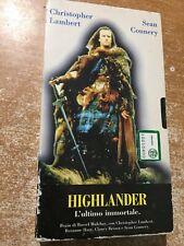 Vhs Highlander L'ultimo immortale con Christopher Lambert e Sean Connery