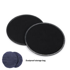 1 Pair Exercise Workout Gliding Discs Double Sided Fitness Sport Core Sliders Bk