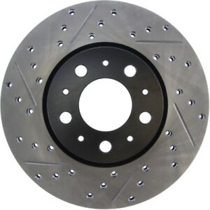 StopTech 127.39019R Sport Drilled & Slotted Brake Rotor For 98-04 Volvo C70 NEW