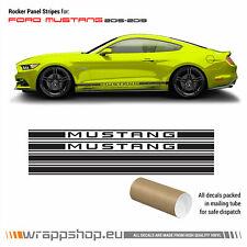 Ford Mustang 2015 - 2019 Rocker Panel Side stripes