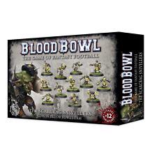 Blood Bowl: The Scarcrag Snivellers Goblin Blood Bowl Team GWS 200-27 NIB
