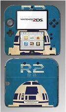 Star Wars Luke R2D2 R2-D2 Retro Poster Style Video Game Skin Cover Nintendo 2DS