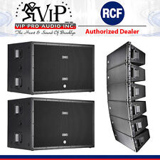 "6x RCF HDL 20-A Active Line Array 1400W + 2-SUB 8006-AS Dual 18"" 5000W Subwoofer"