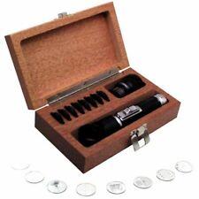 Fowler 10X Pocket Optical Comparator Set-Model: #52-664-609 Magnification: 10X