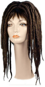 ADULT RASTA RAGGAE JAMAICAN MEDIUM BROWN DREADLOCKS LACEY WIG COSTUME LW200MBN