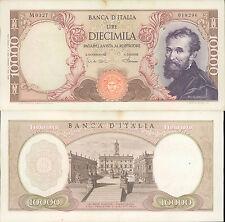 10.000 LIRE MICHELANGELO DEC.04/01/1968  NON TRATTATA