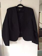 Polyester Business Peplum Coats & Jackets for Women