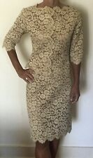 Stunning Italian hand made vintage lace two piece jacket and skirt suit