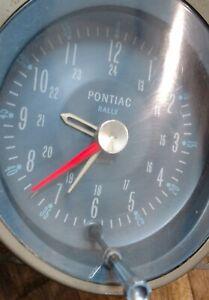 1964-1967 Pontiac GTO Rally Clock Tempest, Lemans Reconditioned! 1965 1966