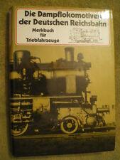 Dampflokomotiven  Deutsche Reichsbahn Triebfahrzeuge Reprint DDR Buch Eisenbahn