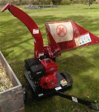 Petrol Wood Chipper TP1200 | Garden Chipper | Electric Start | Petrol Chipper
