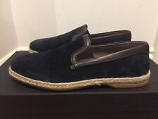 Dolce & Gabbana Mondello Slip on Espadrille Suede Shoes Loafers Size UK 7/EU 41