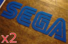 2x Sega Sticker - (Master System Mega Drive Game Gear Console Arcade Retro)