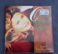 OLIVIA NEWTON-JOHN RARE CD SINGLE - DON'T CUT ME DOWN / THE WAY OF LOVE