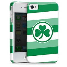 Apple iPhone 4 premium case cover-curso greuther fuerth rayas