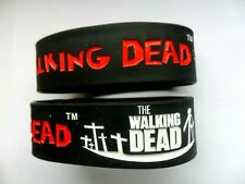 WALKING DEAD  Silicon // Rubber Wristband // Bracelet