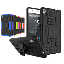 For Sony Xperia XA Ultra Dual Case Tough Armor Shockproof Kickstand Phone Cover
