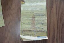 1942 Studebaker Club Sedan Historical Document Wall Art Rare Paper