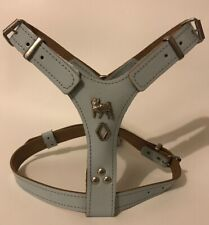 LEATHER DOG HARNESS/PUG HARNESS REAL LEATHER - SMALL/PUPPY