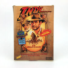 Indiana jones and the last crusade-lucasfilm Erbe spain big box msx2 cassette msx