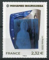 France Art Stamps 2020 MNH Mohamed Bourouissa Portraits Paintings 1v Set