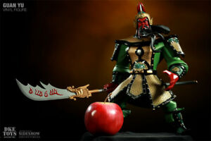 Guan Gong Guan Yu Warrior Vinyl Romance of the Three Kingdoms General Dynasty