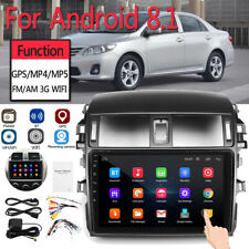 9inch Android 8.1 Car Stereo Radio Player WIFI GPS for Toyota Corolla 2008-2013