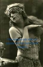 Old VINTAGE Antique EXOTIC BELLY DANCER Photo Reprint
