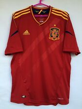 SPAIN NATIONAL TEAM 2012 2013 ADIDAS HOME FOOTBALL SOCCER SHIRT JERSEY  MAGILA