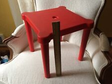 IKEA Kid Stool Chair Red Utter Replacement Play Home Plant Night Stand Hagberg