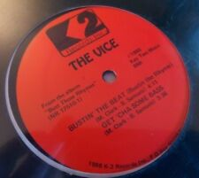 """The Vice, Bustin' The Beat (Bustin The Rhyme) '88 SEALED 12"""" SINGLE RARE HIP HOP"""