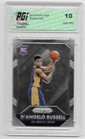 @  D'angelo Russell 2015-16 Panini Prizm Rookie Card #322 PGI 10 Warriors
