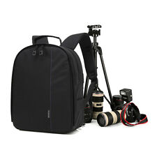 Fashion DSLR SLR Camera Backpack Shoulder Bag Waterproof for Canon Nikon Sony