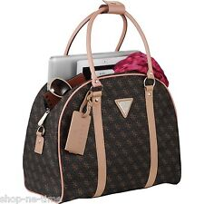 "Guess Logo Affair Dome 15"" Laptop / MacBook Pro / Tablet Travel Tote Bag - New"