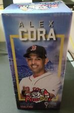 Boston/ Pawtucket Red Sox Alex Cora Manager 2018 World Series Bobblehead NIB
