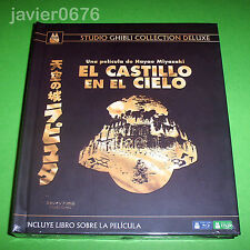 EL CASTILLO EN EL CIELO GHIBLI COLLECTION DELUXE BLU-RAY + DVD + LIBRO