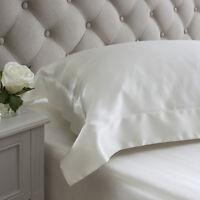 Jasmine Silk Ivory  Oxford Silk Pillowcase 50x75+7cm