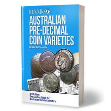 Renniks Australian Pre Decimal Coin Varieties 3rd Edition - NEW EDITION