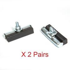 1 Pair Fibrax Raincheater Cantilever Brake Pads Specifically Steel Rims