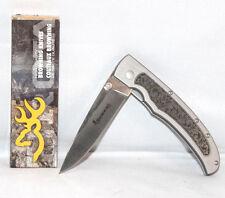 Browning Knives 269 Sagebrush Lynx Scroll Folding Knife 322269