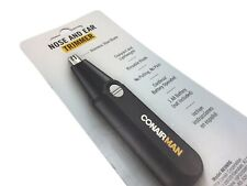 ConairMAN Nose And Ear Hair Trimmer, Battery Operated Compact Travel Size