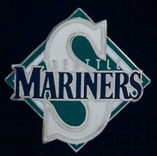 Seattle Mariners Pin Badge ~ Logo & Diamond ~ MLB ~ Baseball