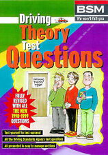 Driving Theory Test Questions by British School of Motoring (Paperback, 1998)