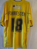 Forrester Bristol Rovers Match Worn Signed 2005-06 Football Shirt COA /20786