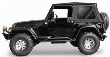 New Jeep Wrangler Soft Top 1997-2006 Black Tinted fits Full Steel Doors Tj Tint