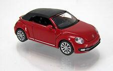 Wiking 002849 Volkswagen VW Beetle Cabrio geschlossen tornadorot