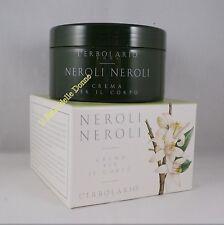 ERBOLARIO Crema x il corpo profumo NEROLI NEROLI 250ml cream body orange blossom
