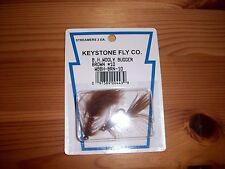 Keystone Fly Co B.H. Wooly Bugger Brown # 10 Streamer Flies - 2 Per Pack
