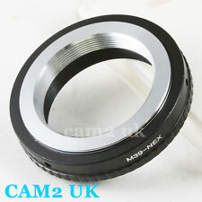 New Leica M39 L39 39mm Mount Lens to Sony NEX E Adapter A7 A7R A7S II